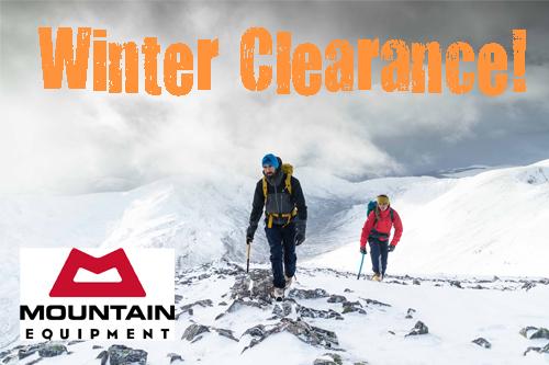Mountain Equipment Clearance!