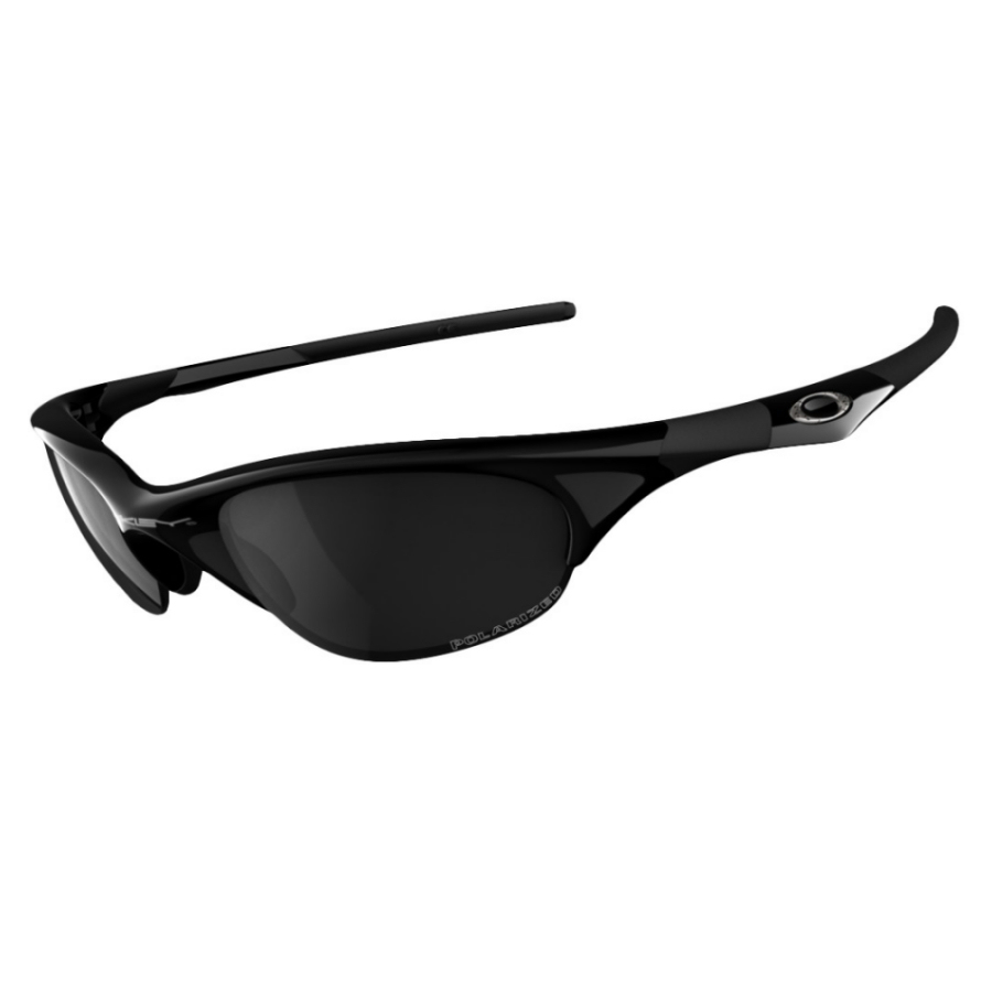 413e3f9592 Oakley - Polarized Half Jacket - Jet Black-Black Iridium Polarised ...