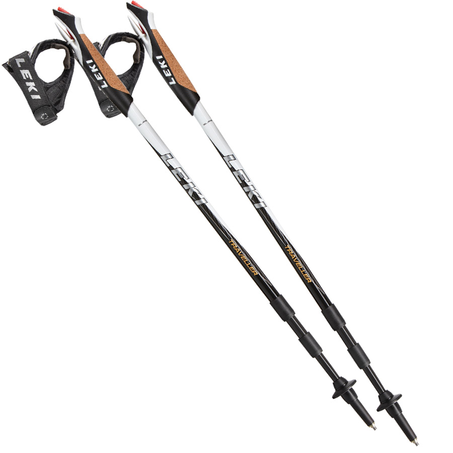 7c5acc694ff LEKI - Traveller Carbon Nordic Walking Poles-Pair