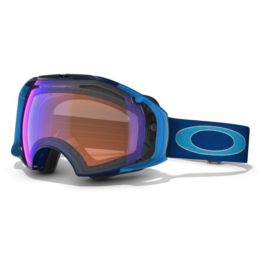 oakley airbrake blue iridium