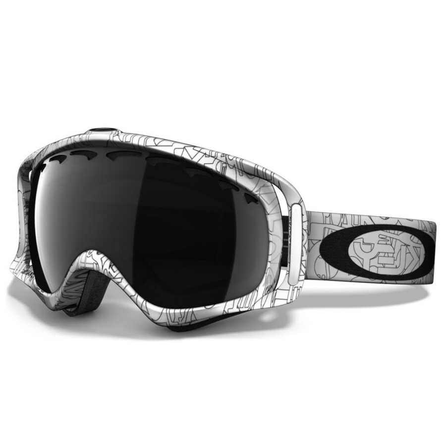 a242ea2216cb Oakley - Crowbar Snow Goggles - White Factory Text-Dark Grey - 57 ...