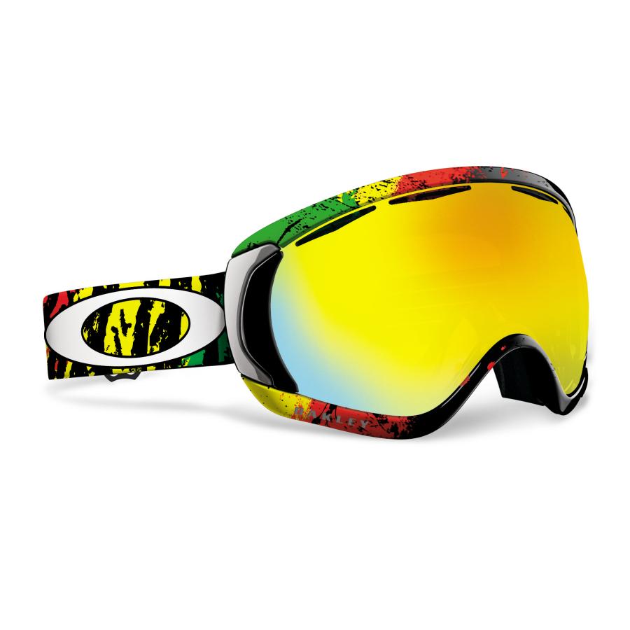 oakley goggles snow  Oakley - Tanner Hall Signature Series Canopy Snow Goggles - Rasta ...