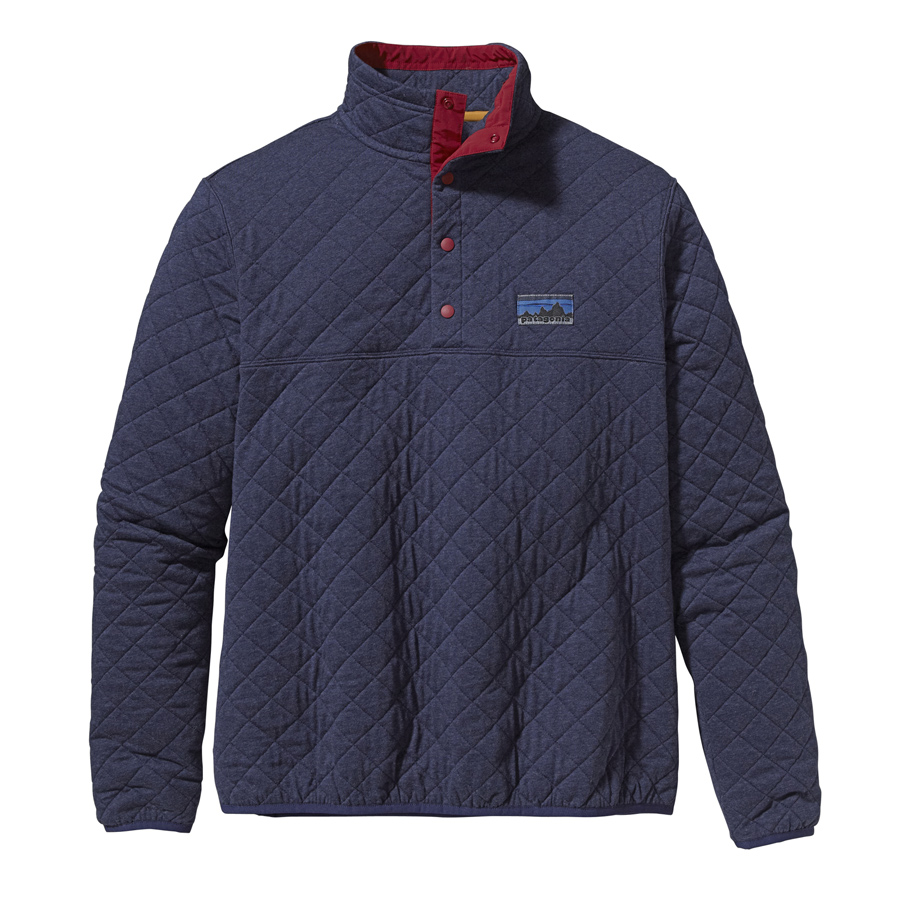 Patagonia Men S Diamond Quilted Snap T Pullover
