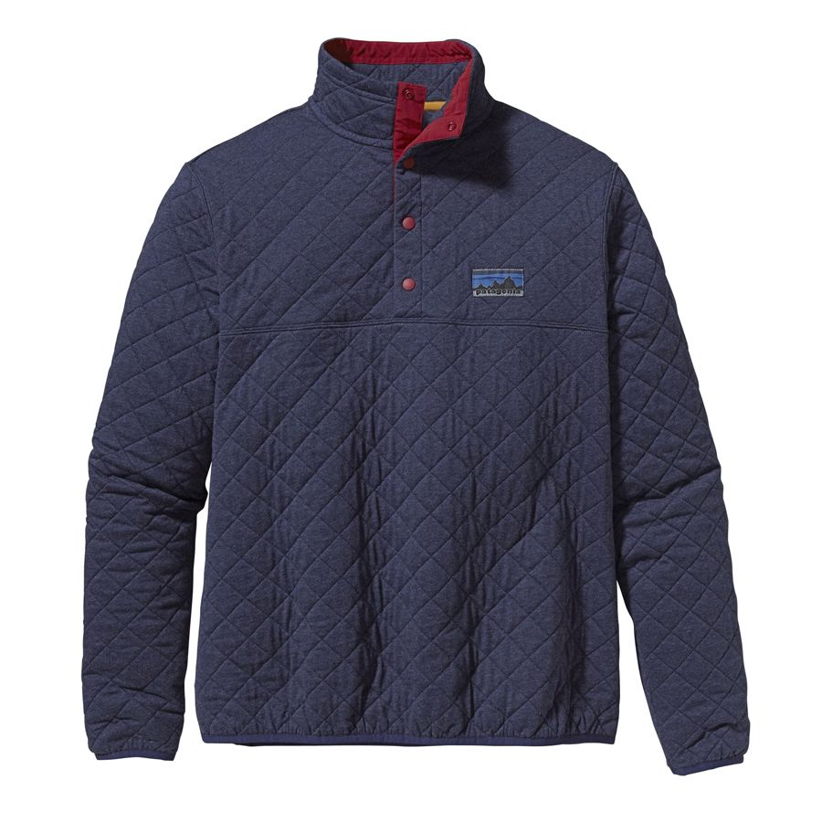 Patagonia Quilted Snap T Men S: Men's Diamond Quilted Snap-T Pullover