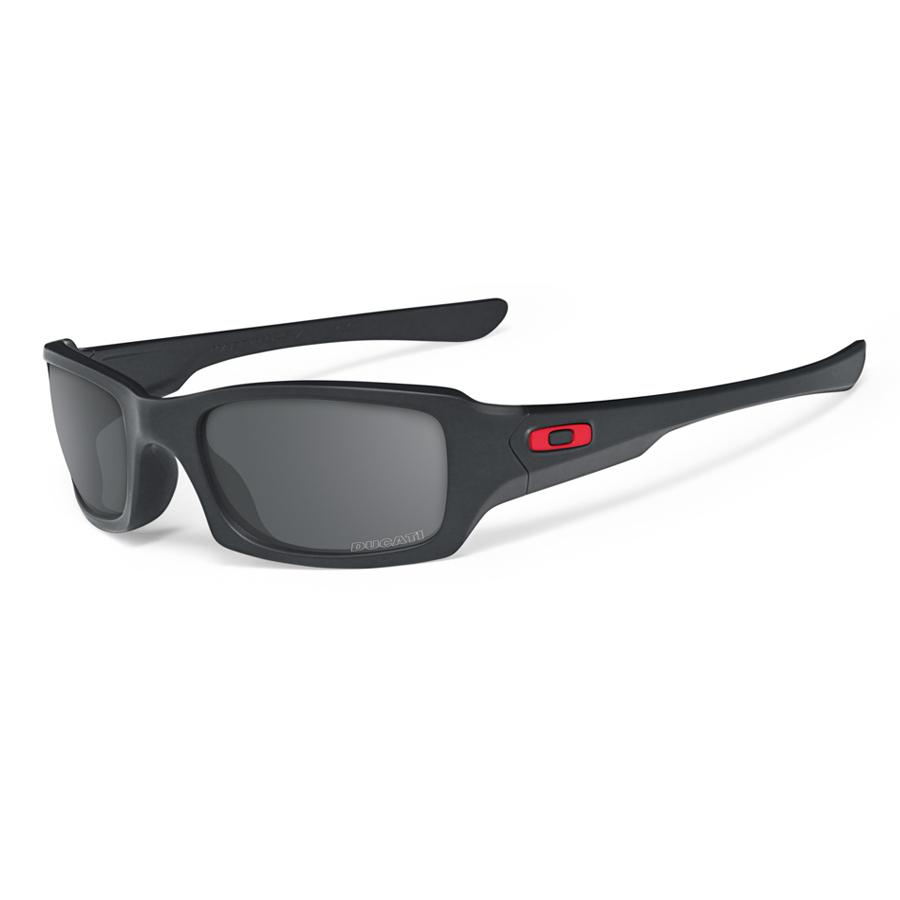 Oakley - Ducati Fives Squared - Matte Black-Black Iridium Polarised