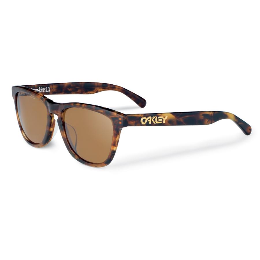 0e6015b1a01 FROGSKINS LX DBR TORT DRK BRNZ. Oakley logo. Email to a friend