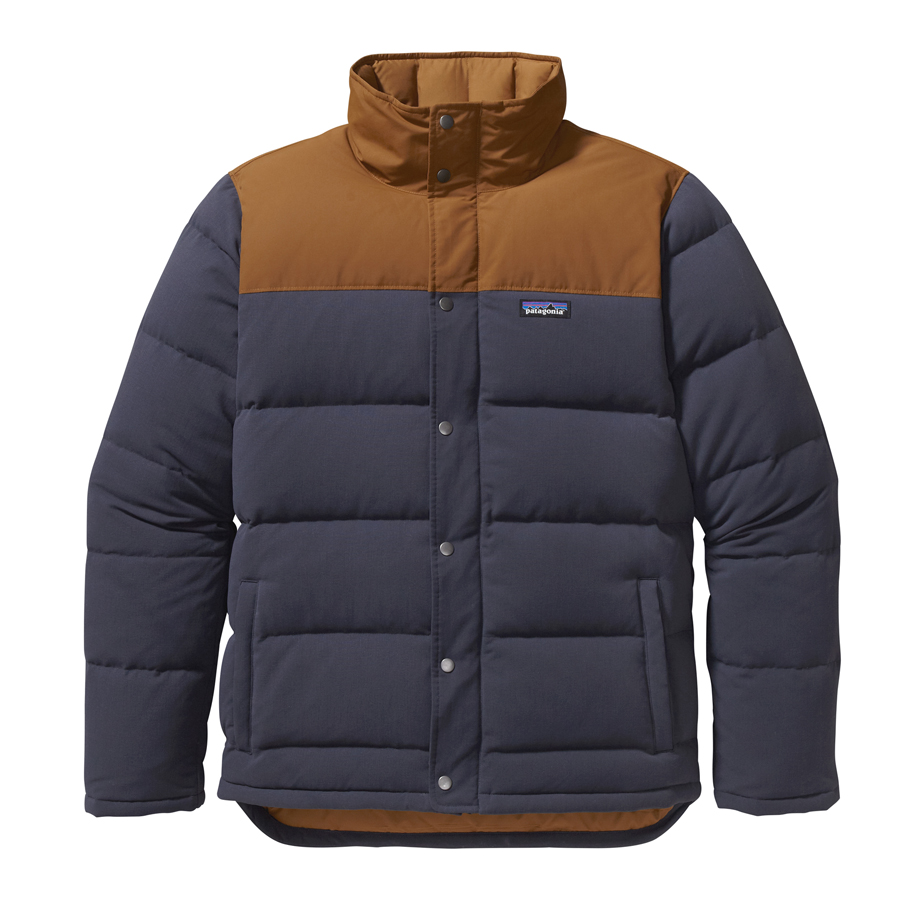 Patagonia men 39 s bivy down jacket winter 2015 for Patagonia men s recycled down shirt jacket