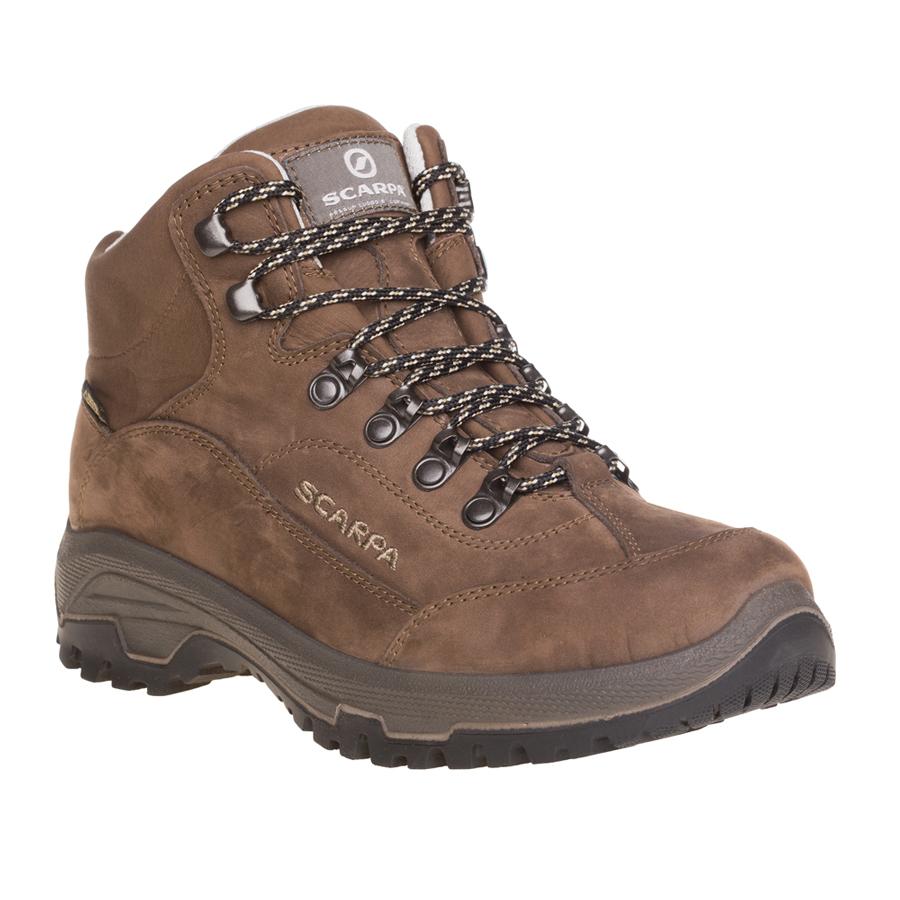 Scarpa Men S Cyrus Gtx Shoes Brown Size