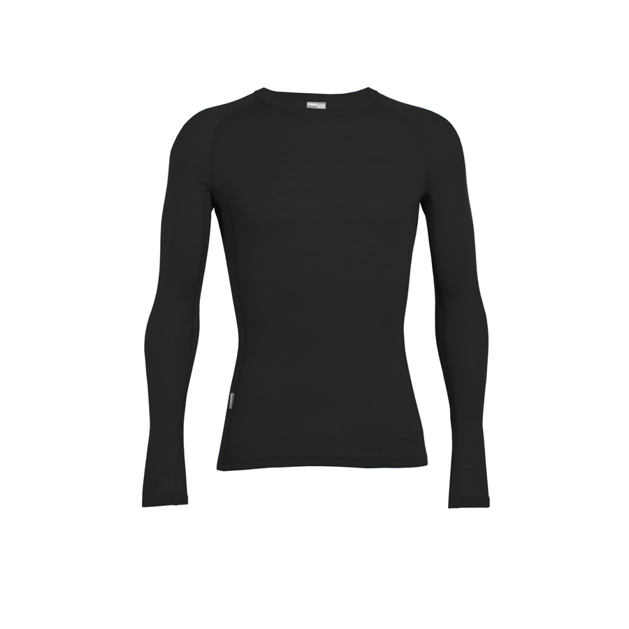f2fd325e8bc Icebreaker - Men's Everyday Long Sleeve Crewe | Countryside Ski & Climb