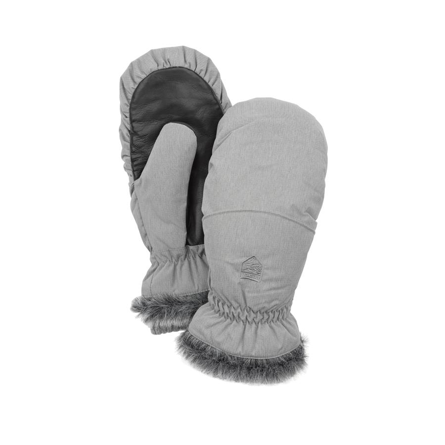 c06d0e716 Hestra - Women's Primaloft Winter Forest Mitt - Light grey (320)