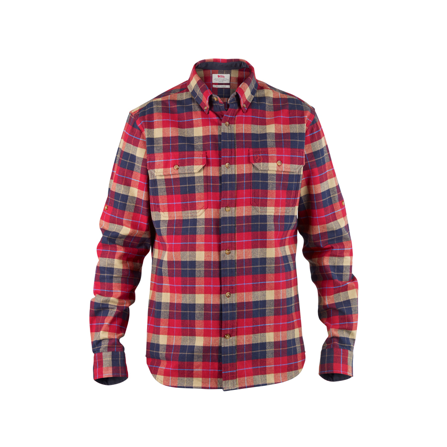 Fjallraven Men 39 S Singi Heavy Flannel Shirt Countryside
