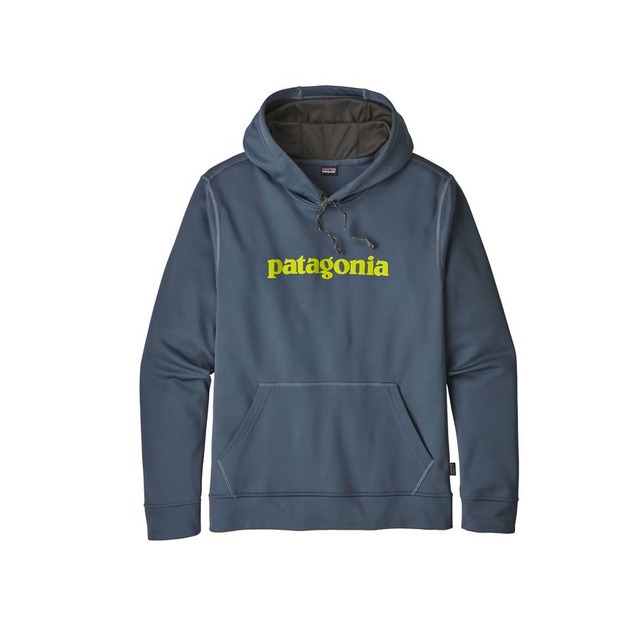 buying now limited guantity first rate Patagonia - Men's Text Logo Polycycle Hoody - Summer 2018 ...