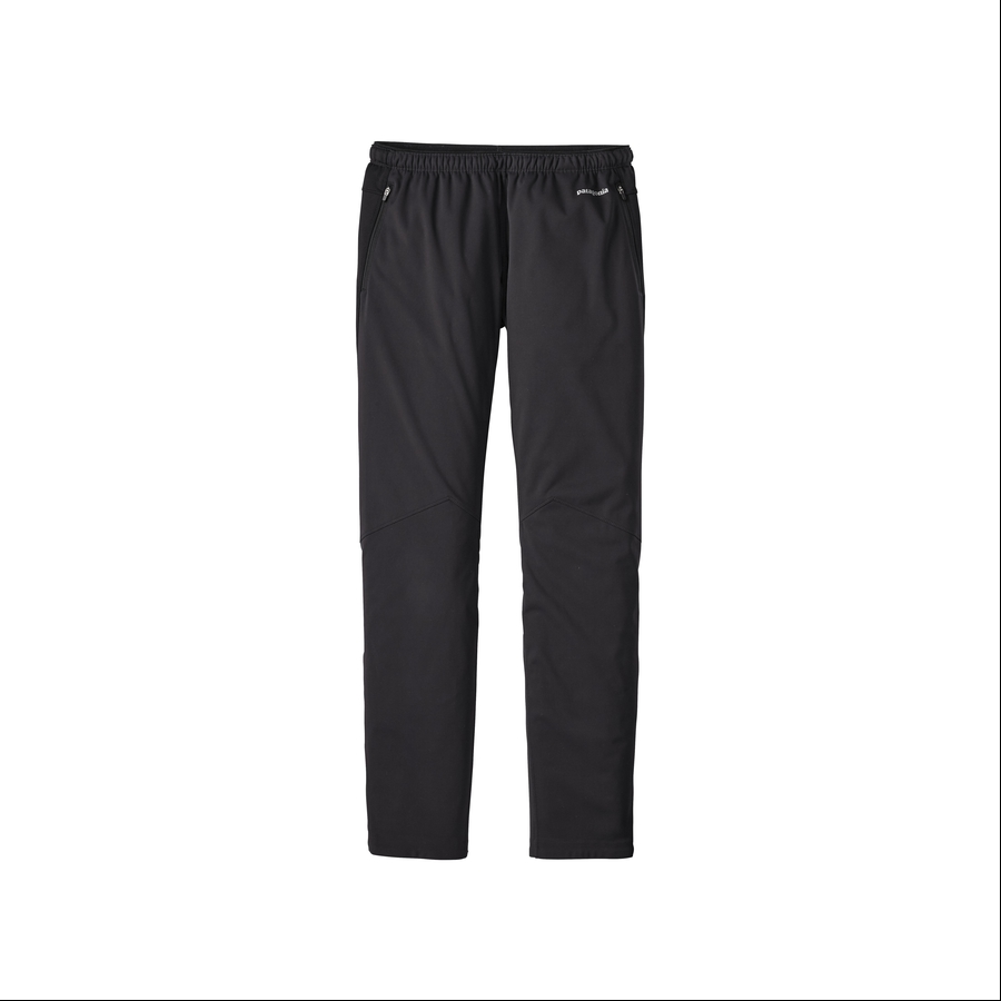 CRYSULLY Mens Snow Pants - Fleece Lined Soft Shell