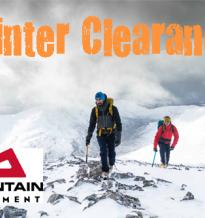 Mountain Equipment Clearance!
