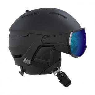SALOMON DRIVER BLACK HELMET