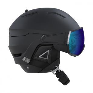 SALOMON DRIVER+ BLACK HELMET