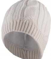 WATERPROOF CABLE BEANIE-CREAM