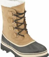 SOREL CARIBOU BOOT:BUFF NUBUCK