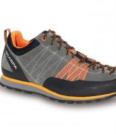 SCARPA CRUX MENS GREY-ORANGE