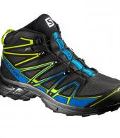 X-CHASE MID GTX MEN BLK-BLUE