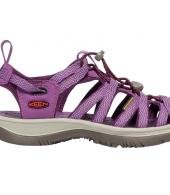 KEEN WOMENS WHISPER-GRAPE KISS